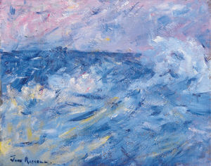 John Peter Russell - Stormy Sky and Sea, Belle-Ile, off Brittany