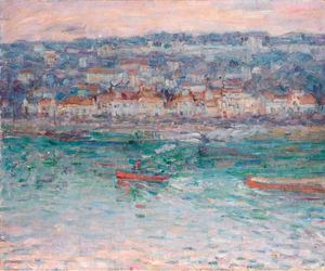 John Peter Russell - Tugboat on the Seine