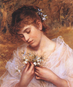 Sophie Gengembre Anderson - Love in a Mist