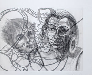 David Salle - The Raphael - II