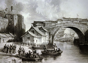 Thomas Allom - West Gate of Ching