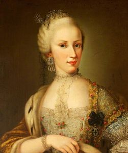 Alessandro Longhi - Empress Maria Luisa (1745–1792), Grand Duchess of Tuscany and Empress of Austria