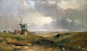 Henry Bright - Windmill at Sheringham, Norfolk