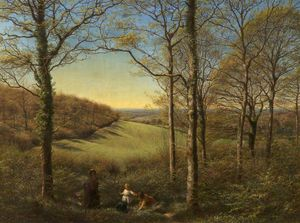James Thomas Linnell - Springtime
