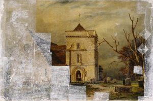 Richard Henry Nibbs - Climping church, west sussex