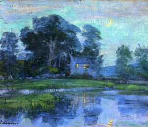 Robert William Vonnoh - At eventime