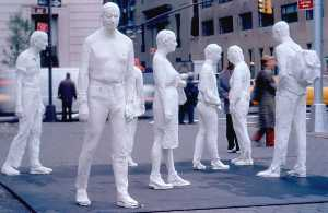 George Segal - Street crossing