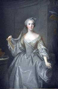 Marc Nattier - Madame Sophie de France as a Vestal Virgin