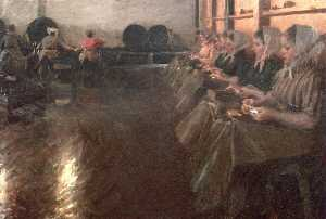 Anders Leonard Zorn - The Large Brewery