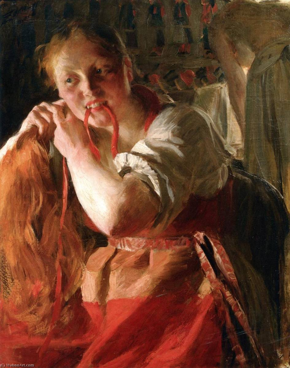 famous painting Margit of Anders Leonard Zorn