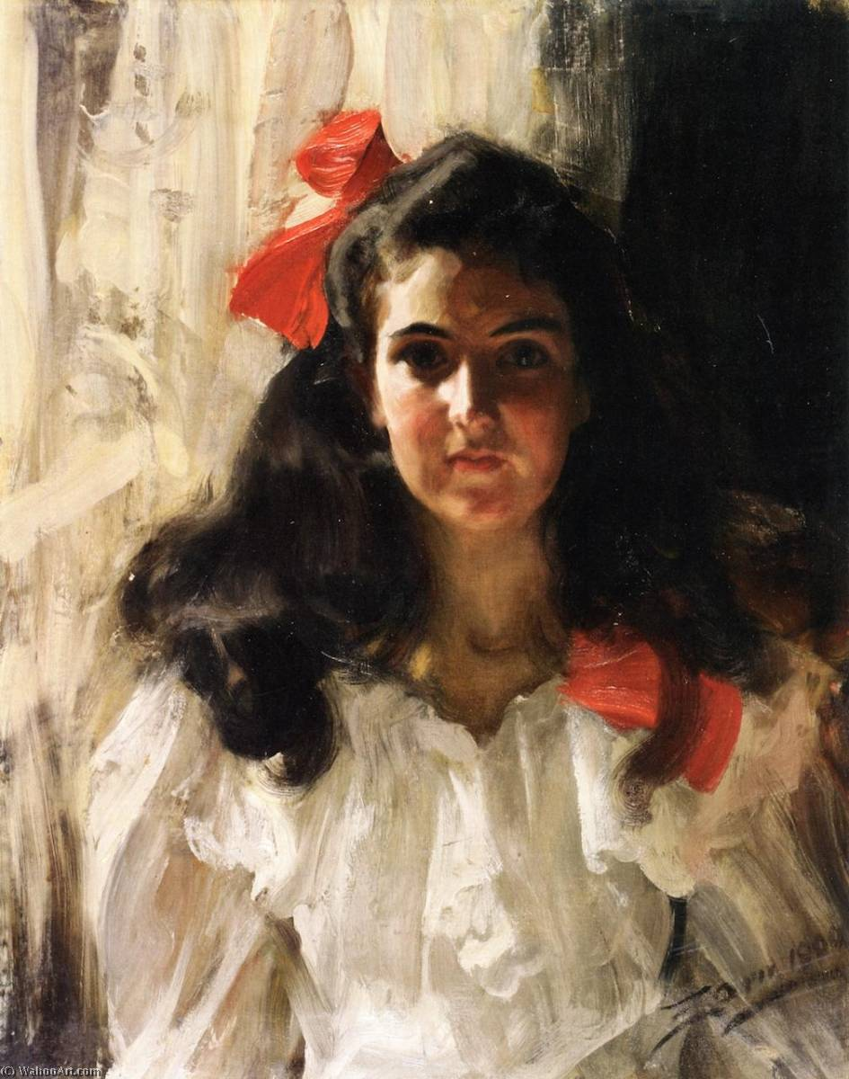 famous painting Marie Cohn of Anders Leonard Zorn