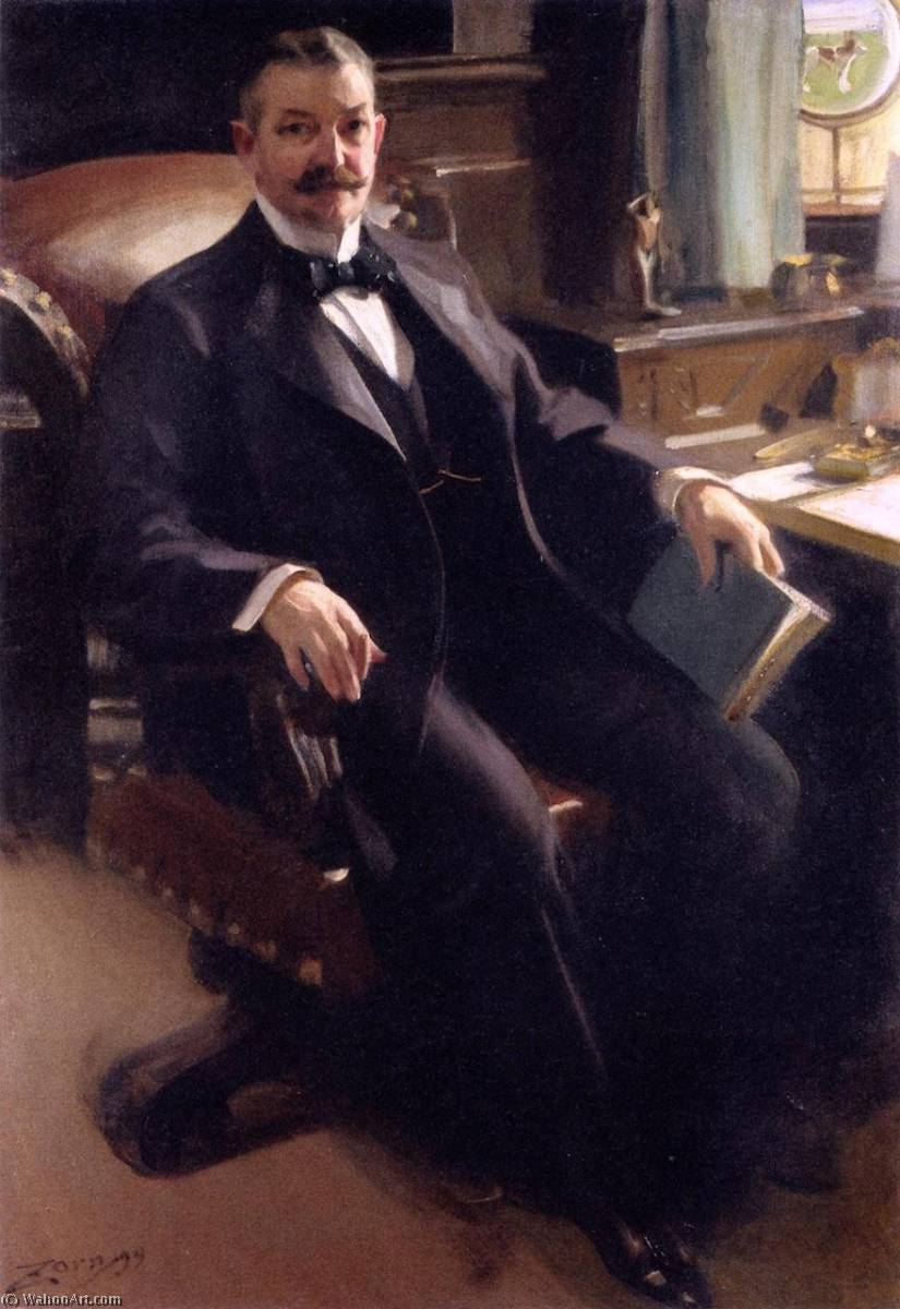 famous painting Henry Clay Pierce of Anders Leonard Zorn