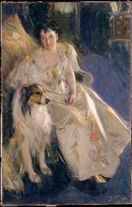 Anders Leonard Zorn - Mrs. Walter Rathbone Bacon