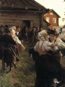 Anders Leonard Zorn - Midsummer's Day Dance