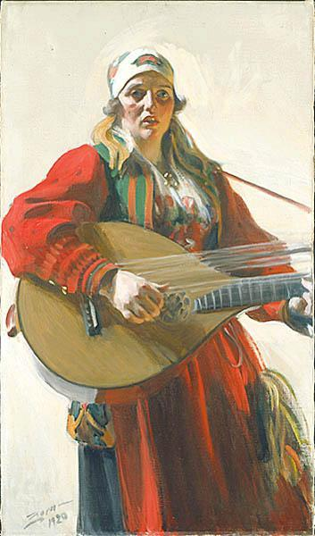 famous painting Swedish Hemlandstoner Home Tunes of Anders Leonard Zorn