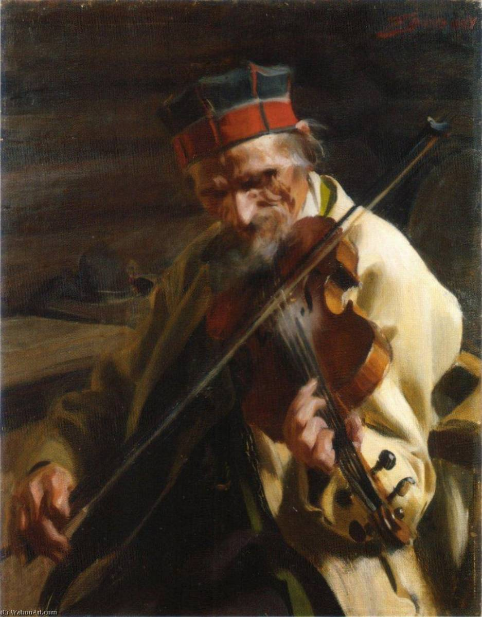 famous painting Hins Anders of Anders Leonard Zorn