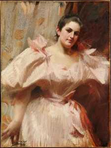 Anders Leonard Zorn - Portrait of Frieda Schiff (1876–1958), Later Mrs. Felix M. Warburg