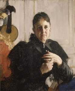 Anders Leonard Zorn - Mrs. John Crosby Brown (Mary Elizabeth Adams, 1842 1918)