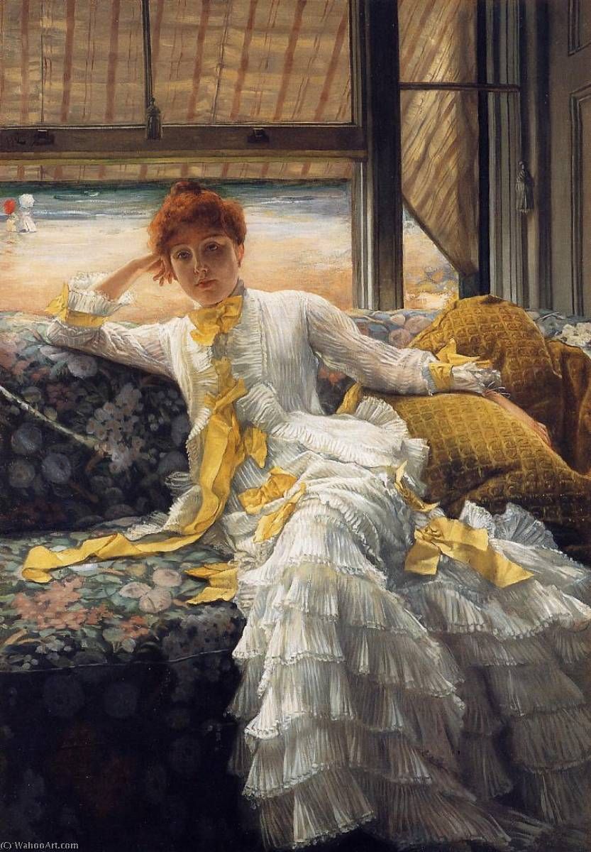 famous painting July Specimen of a Portrait of James Jacques Joseph Tissot