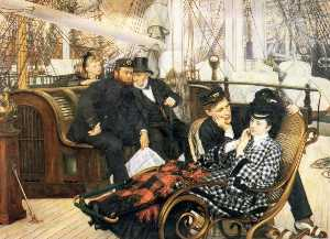 James Jacques Joseph Tissot - The Last Evening