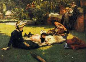 James Jaques Joseph Tissot - In the Sunshine