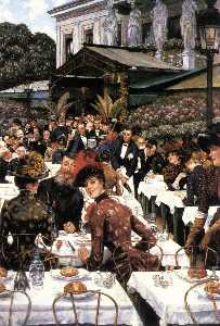 James Jaques Joseph Tissot - The Painters and their Wives