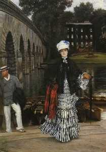 James Jaques Joseph Tissot - The Return from the Boating Trip
