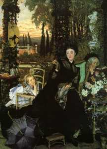 James Jaques Joseph Tissot - A Widow