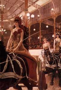 James Jaques Joseph Tissot - English The Ladies of the Cars