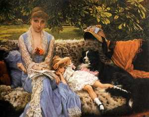 James Jaques Joseph Tissot - English Quiet