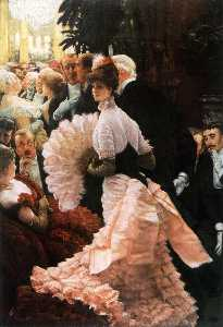 James Jacques Joseph Tissot - English A Woman of Ambition (Political Woman) also known as The Reception