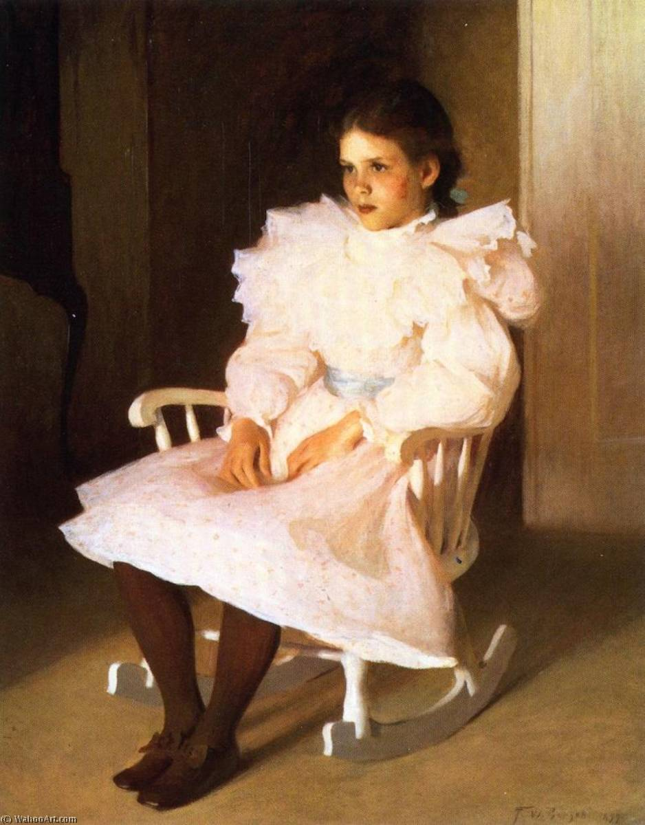 famous painting Gertrude of Frank Weston Benson