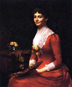 Frank Weston Benson - Margaret Washburn Walker