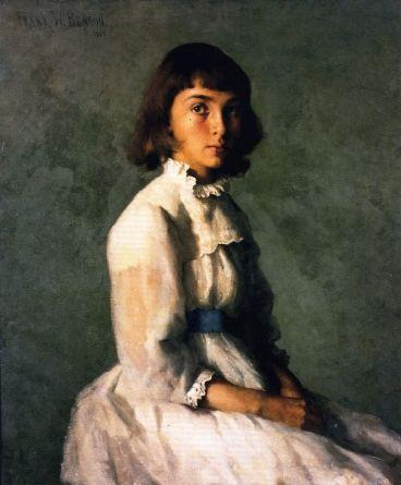 famous painting  of Frank Weston Benson