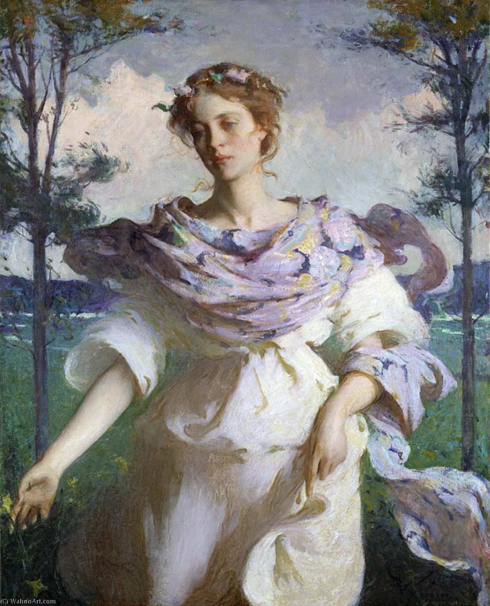 famous painting Summer of Frank Weston Benson