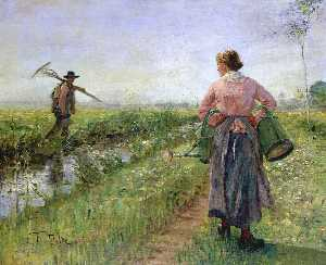 Fritz Von Uhde - In the Morning