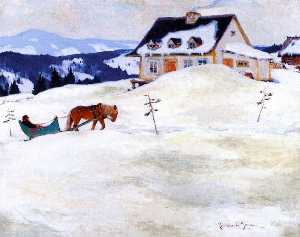 Clarence Alphonse Gagnon - A Laurentian Homestead
