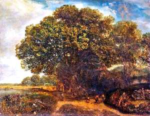 Henry Mark Anthony - Huge Oak that O'ershadows the Mill