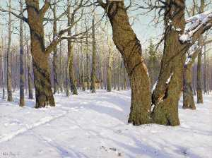 Konstantin Yakovlevich Kryzhitsky - The End of Winter