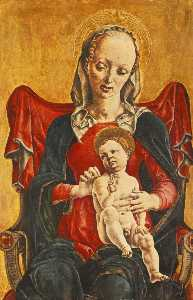 Cosmè Tura - English Madonna with the Child