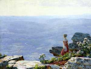 Charles Courtney Curran - Haze in the Valley
