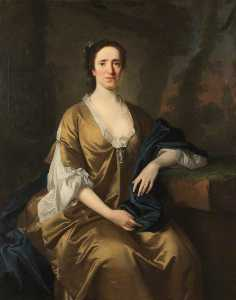 Allan Ramsay - Lady Anne Compton (d.1747), Lady Rushout