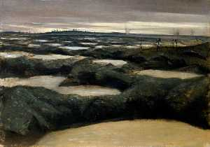 Christopher Richard Wynne Nevinson - After a Push
