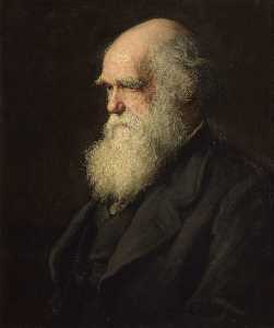 Walter William Ouless - Charles Robert Darwin (1809–1882)