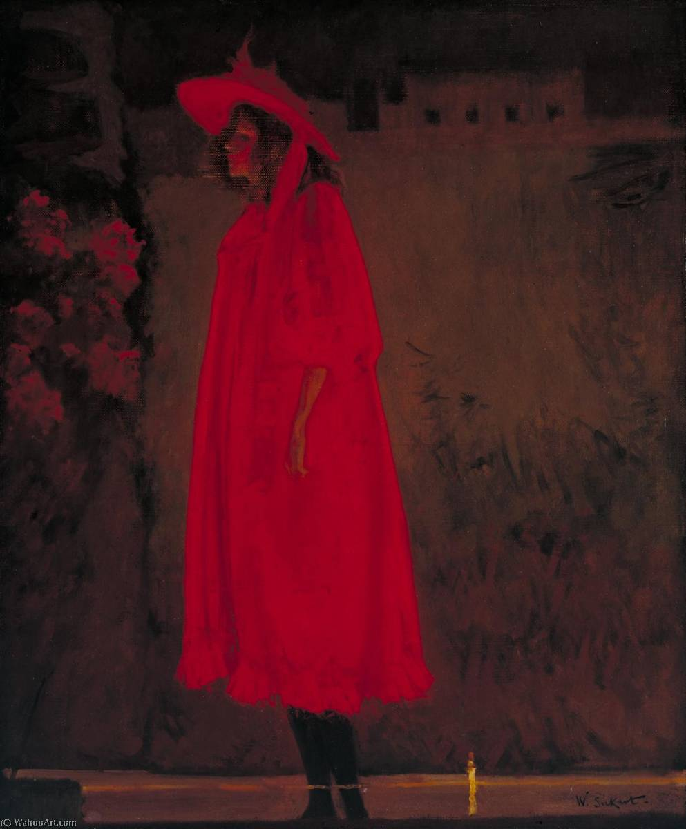 famous painting Minnie Cunningham at the Old Bedford of Walter Richard Sickert