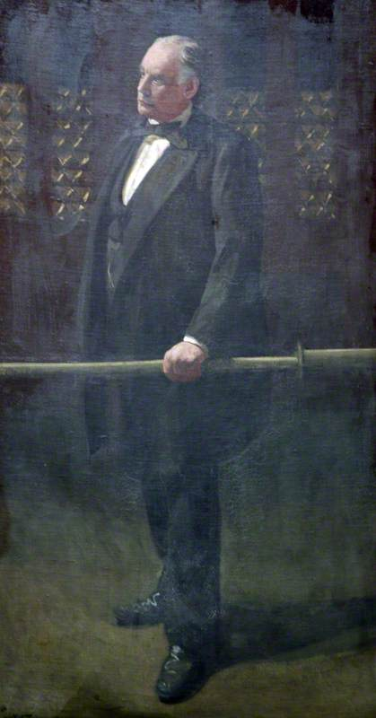 famous painting Charles Bradlaugh at the Bar of the House of Commons of Walter Richard Sickert