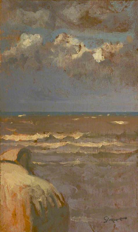 famous painting Seascape of Walter Richard Sickert