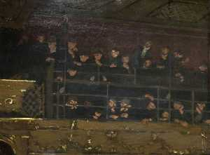 Walter Richard Sickert - Noctes Ambrosianae, Gallery of the Old Mogul