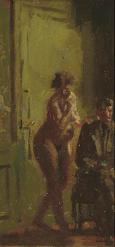 famous painting The Poet and His Muse of Walter Richard Sickert