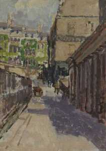Walter Richard Sickert - Belmount and Back of Assembly Rooms